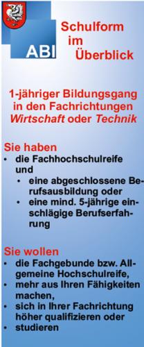 Berufsoberschule (BOS)