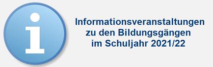 Ausbildungsvorbereitung, Erster Allgemeinbildender und Mittlerer Schulabschluss, Fachhochschulreife und Abitur: Informationsabend am 28.1.