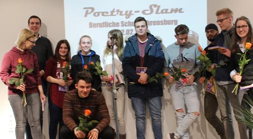 Erster schulinterner Poetry Slam
