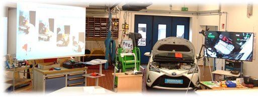 """Ein Toyota – Yaris – Hybrid zum """"Begreifen"""":"""